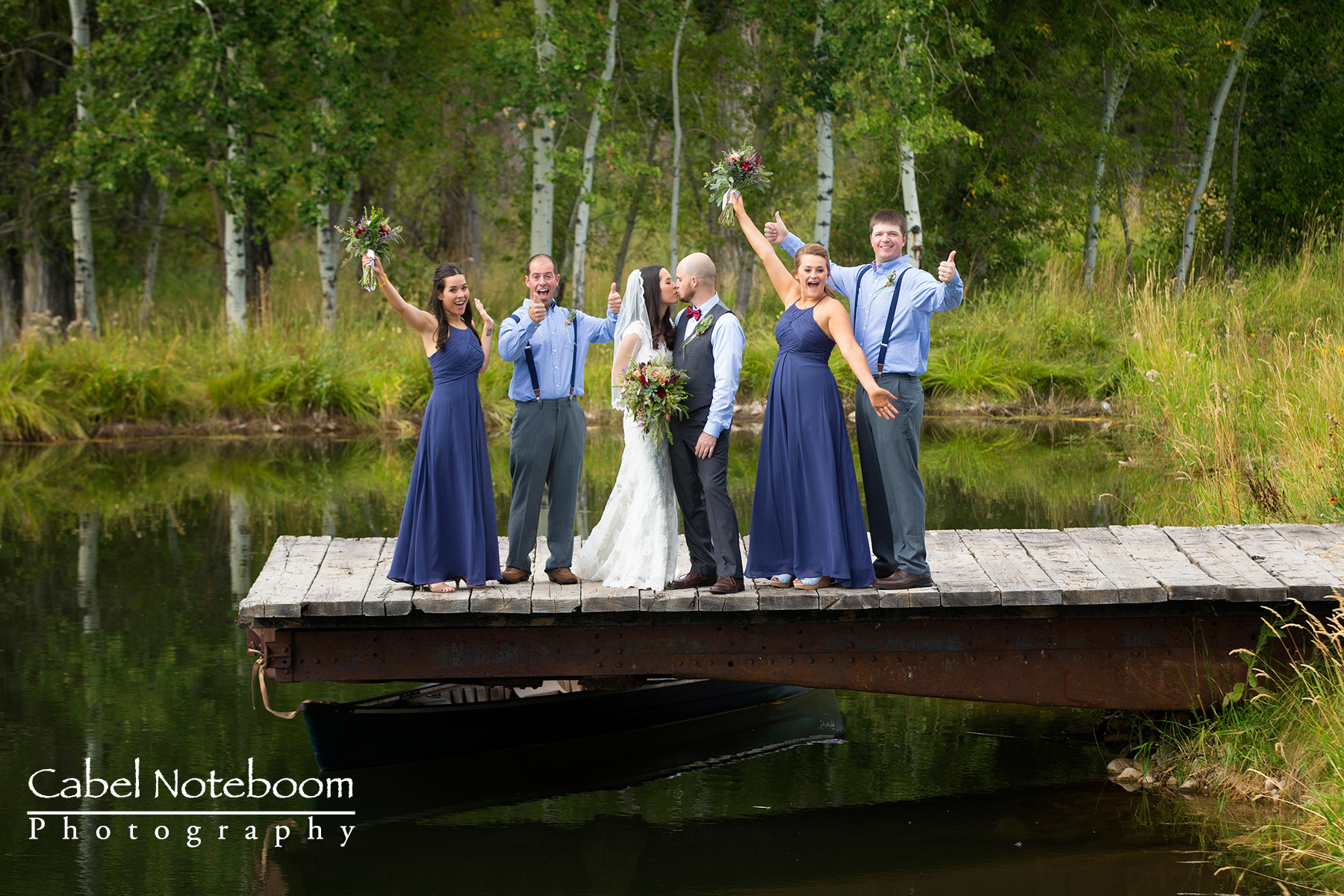 Montana wedding at Quaking Aspens Ranch